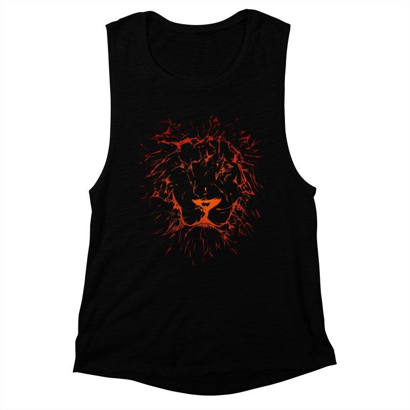 lava lion Women's Muscle Tank by SOE