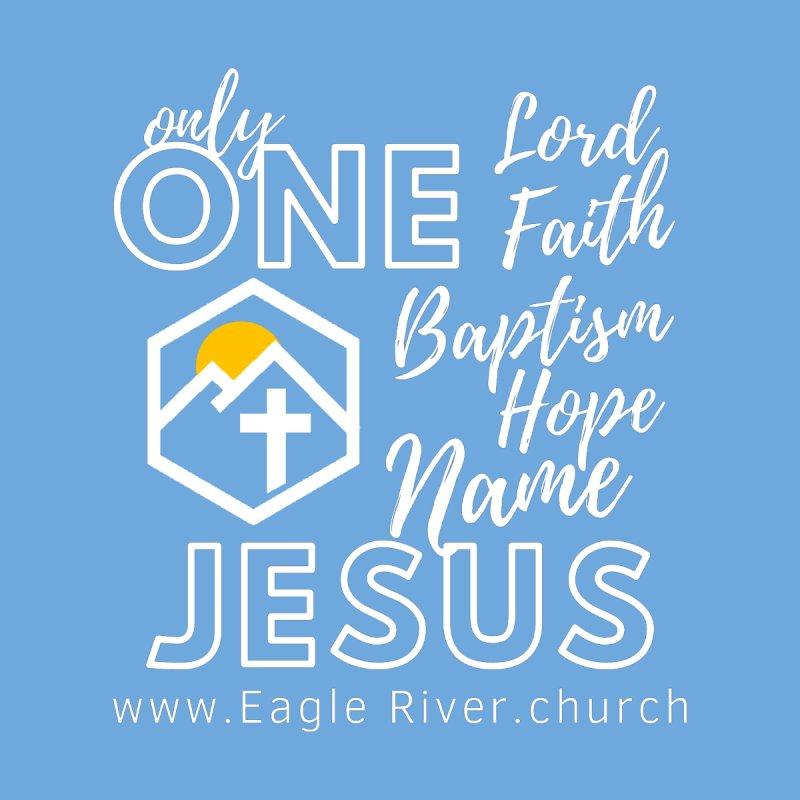 ONE Jesus (2021) Men's T-Shirt by soer's Artist Shop