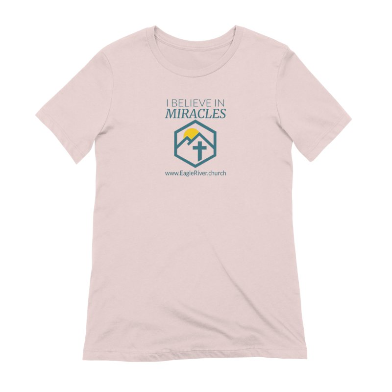 I Believe in Miracles (2019) Women's Extra Soft T-Shirt by soer's Artist Shop