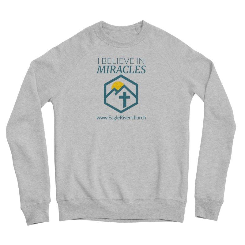I Believe in Miracles (2019) Women's Sponge Fleece Sweatshirt by soer's Artist Shop