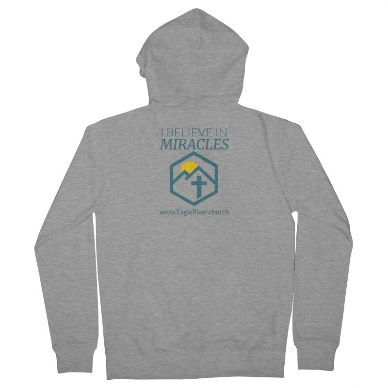 I Believe in Miracles (2019) Men's French Terry Zip-Up Hoody by soer's Artist Shop