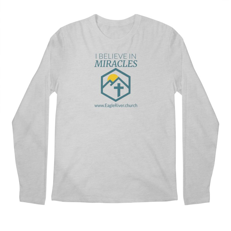 I Believe in Miracles (2019) Men's Longsleeve T-Shirt by soer's Artist Shop