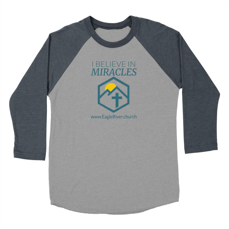 I Believe in Miracles (2019) Men's Baseball Triblend Longsleeve T-Shirt by soer's Artist Shop