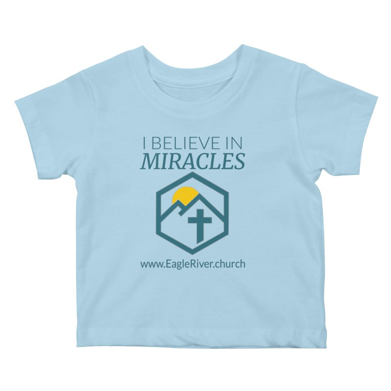 I Believe in Miracles (2019) Kids Baby T-Shirt by soer's Artist Shop