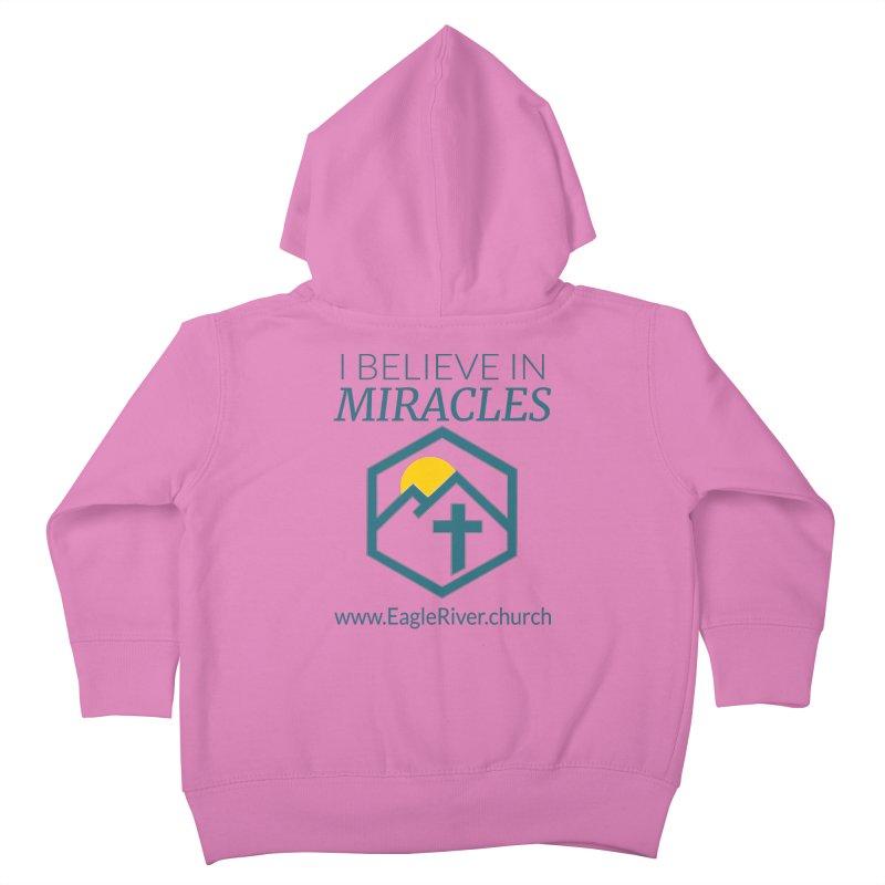 I Believe in Miracles (2019) Kids Toddler Zip-Up Hoody by soer's Artist Shop