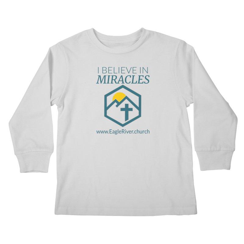 I Believe in Miracles (2019) Kids Longsleeve T-Shirt by soer's Artist Shop