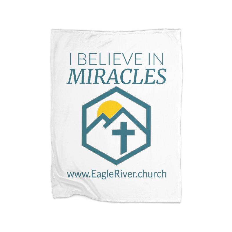 I Believe in Miracles (2019) Home Fleece Blanket Blanket by soer's Artist Shop