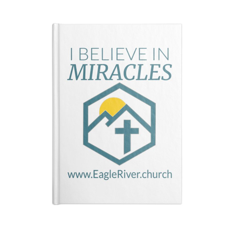 I Believe in Miracles (2019) Accessories Lined Journal Notebook by soer's Artist Shop