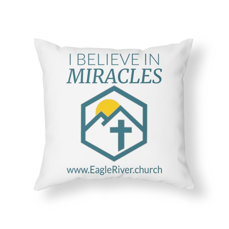 I Believe in Miracles (2019) Home Throw Pillow by soer's Artist Shop