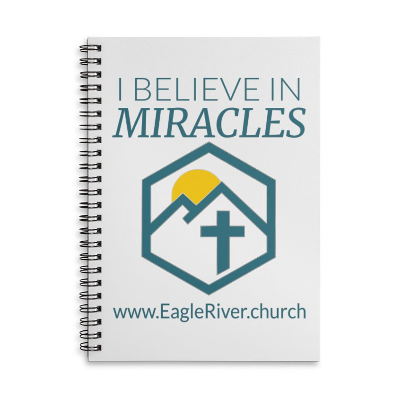 I Believe in Miracles (2019) Accessories Lined Spiral Notebook by soer's Artist Shop