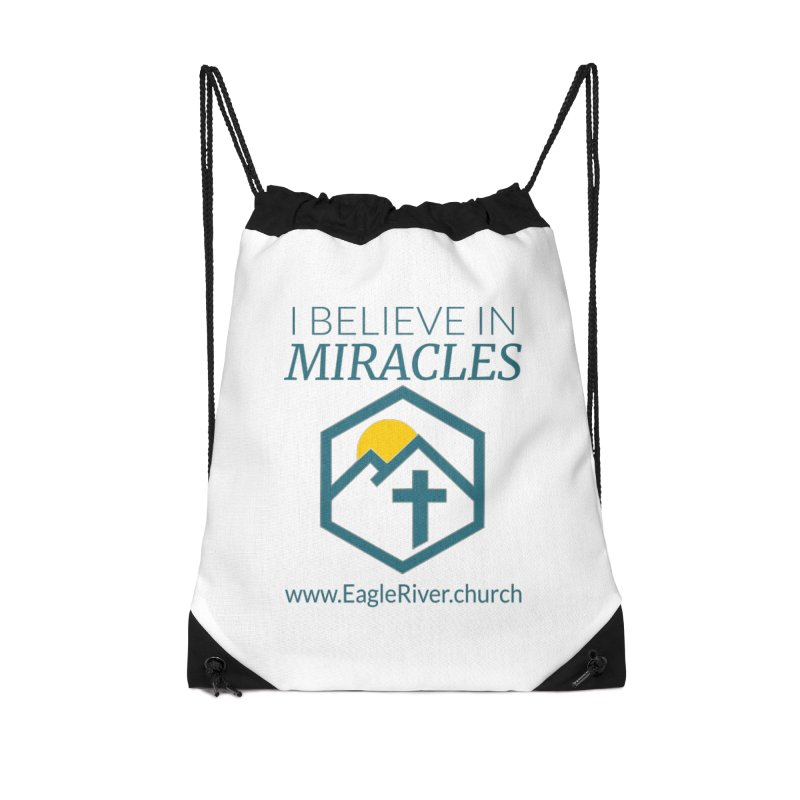 I Believe in Miracles (2019) Accessories Drawstring Bag Bag by soer's Artist Shop