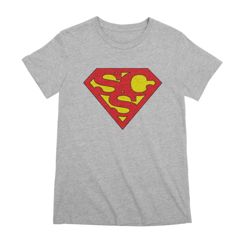"""Super Sweetheart"" Logo Women's Premium T-Shirt by Sofa City Sweetheart Discount Superstore"
