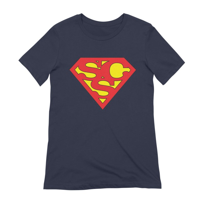 """Super Sweetheart"" Logo Women's Extra Soft T-Shirt by Sofa City Sweetheart Discount Superstore"
