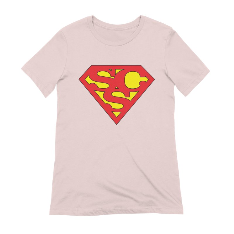 """""""Super Sweetheart"""" Logo Women's Extra Soft T-Shirt by Sofa City Sweetheart Discount Superstore"""