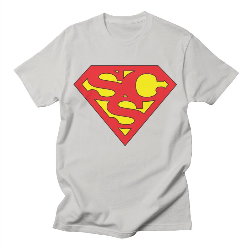 """""""Super Sweetheart"""" Logo Men's T-Shirt by Sofa City Sweetheart Discount Superstore"""