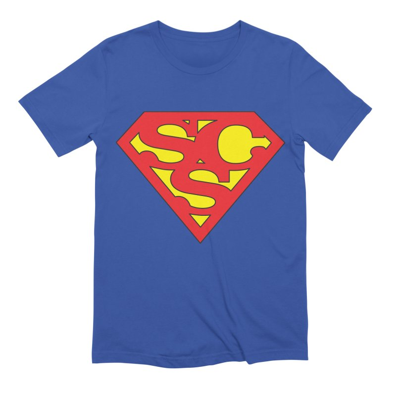 """Super Sweetheart"" Logo Men's Extra Soft T-Shirt by Sofa City Sweetheart Discount Superstore"