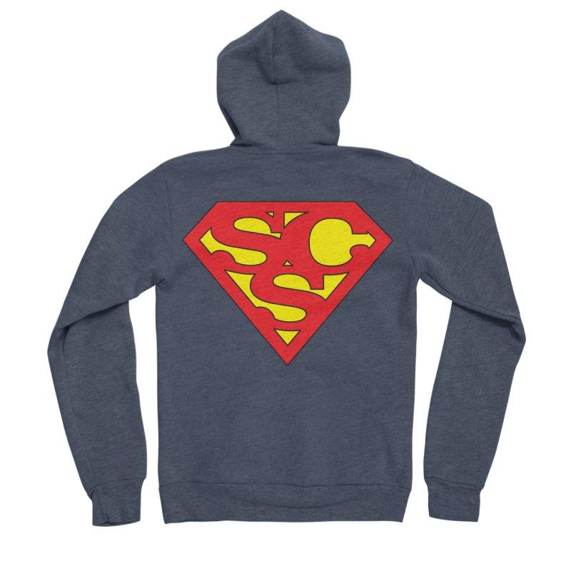"""""""Super Sweetheart"""" Logo Women's Sponge Fleece Zip-Up Hoody by Sofa City Sweetheart Discount Superstore"""