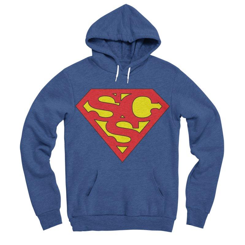 """Super Sweetheart"" Logo Men's Sponge Fleece Pullover Hoody by Sofa City Sweetheart Discount Superstore"