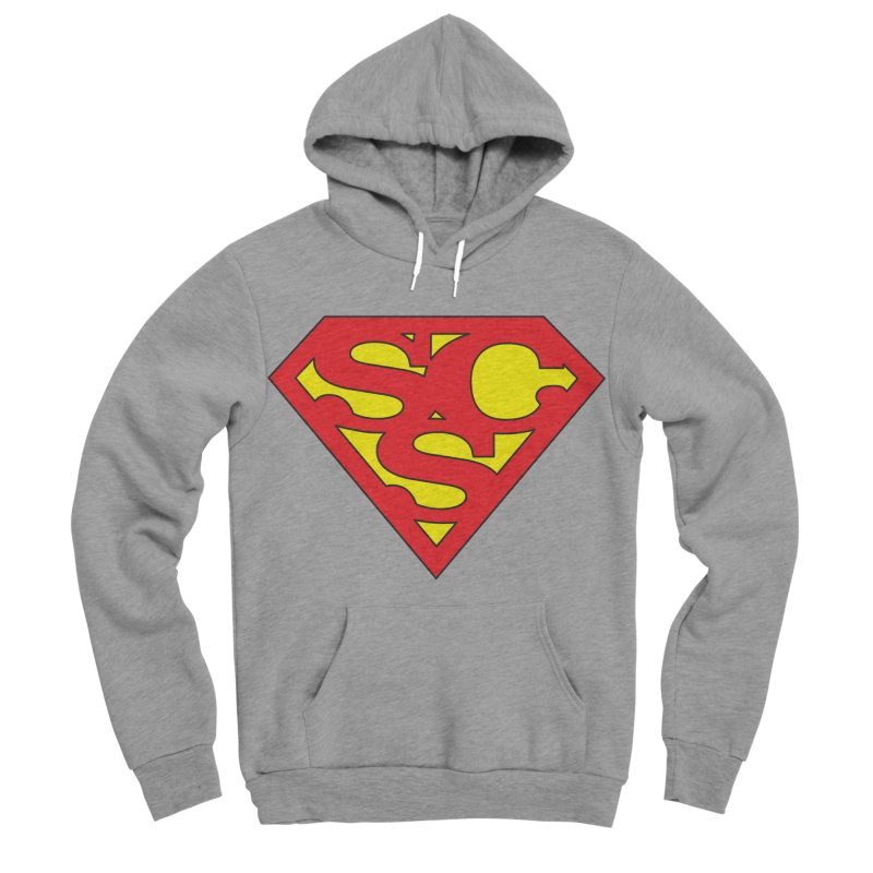 """Super Sweetheart"" Logo Men's Sponge Fleece Pullover Hoody by Sofa City Sweetheart Discount Superstore"