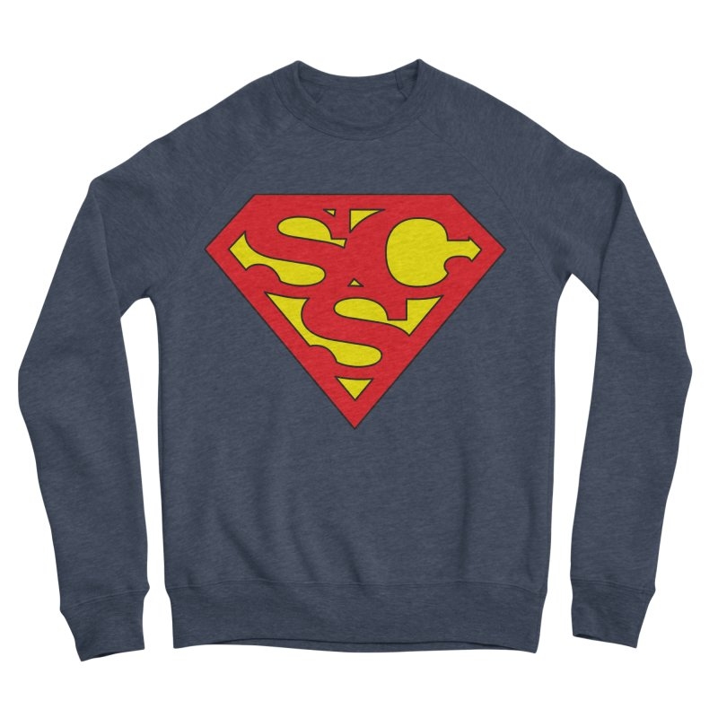 """""""Super Sweetheart"""" Logo Men's Sponge Fleece Sweatshirt by Sofa City Sweetheart Discount Superstore"""