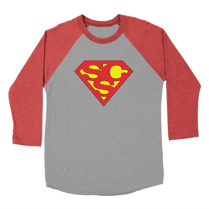 """Super Sweetheart"" Logo Men's Longsleeve T-Shirt by Sofa City Sweetheart Discount Superstore"