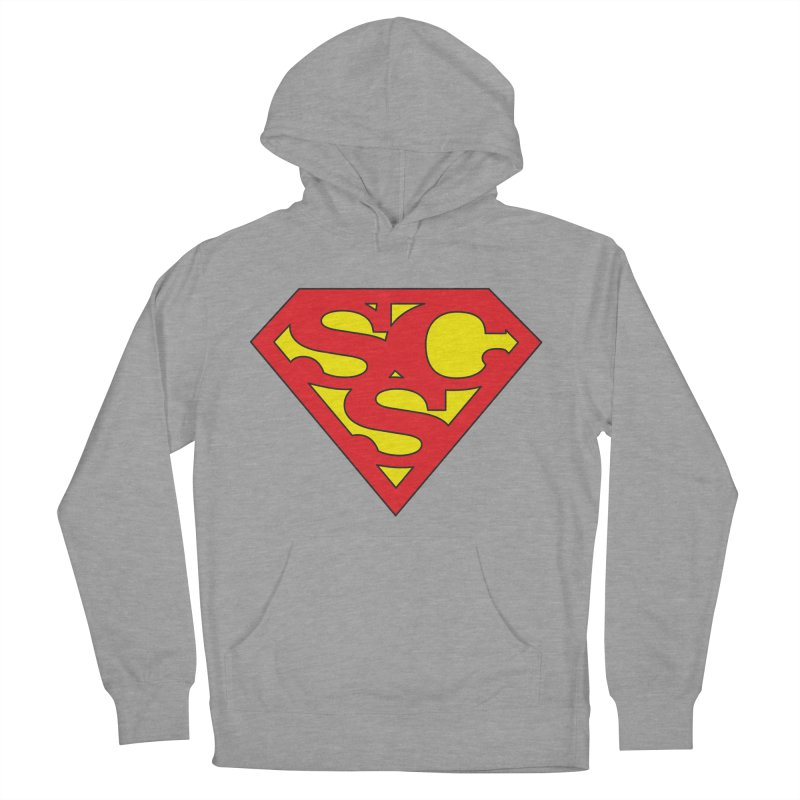 """Super Sweetheart"" Logo Women's French Terry Pullover Hoody by Sofa City Sweetheart Discount Superstore"