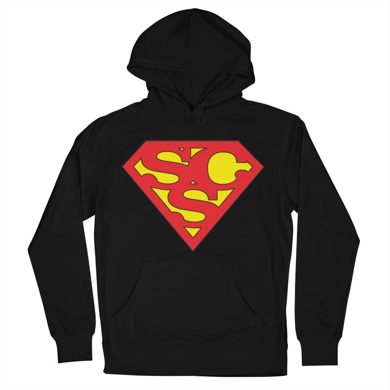 """""""Super Sweetheart"""" Logo Women's French Terry Pullover Hoody by Sofa City Sweetheart Discount Superstore"""
