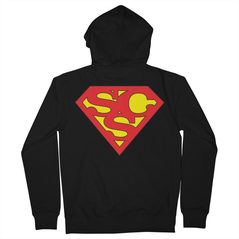 """Super Sweetheart"" Logo Women's French Terry Zip-Up Hoody by Sofa City Sweetheart Discount Superstore"