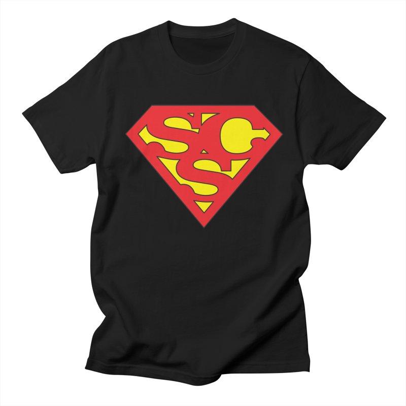 """Super Sweetheart"" Logo Men's Regular T-Shirt by Sofa City Sweetheart Discount Superstore"