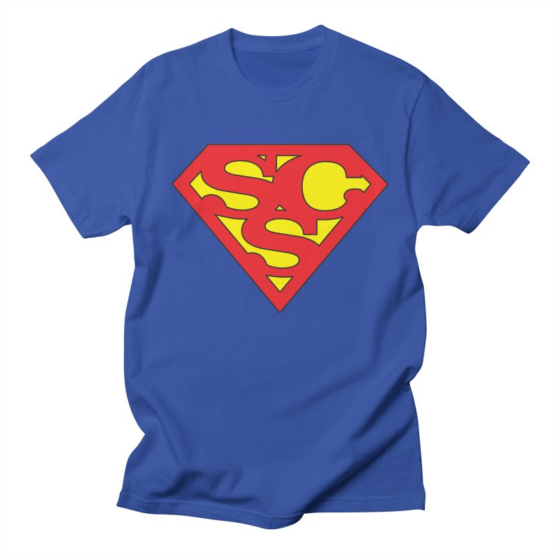 """Super Sweetheart"" Logo Men's Regular T-Shirt by Sofa City Sweetheart Discount Superstore"