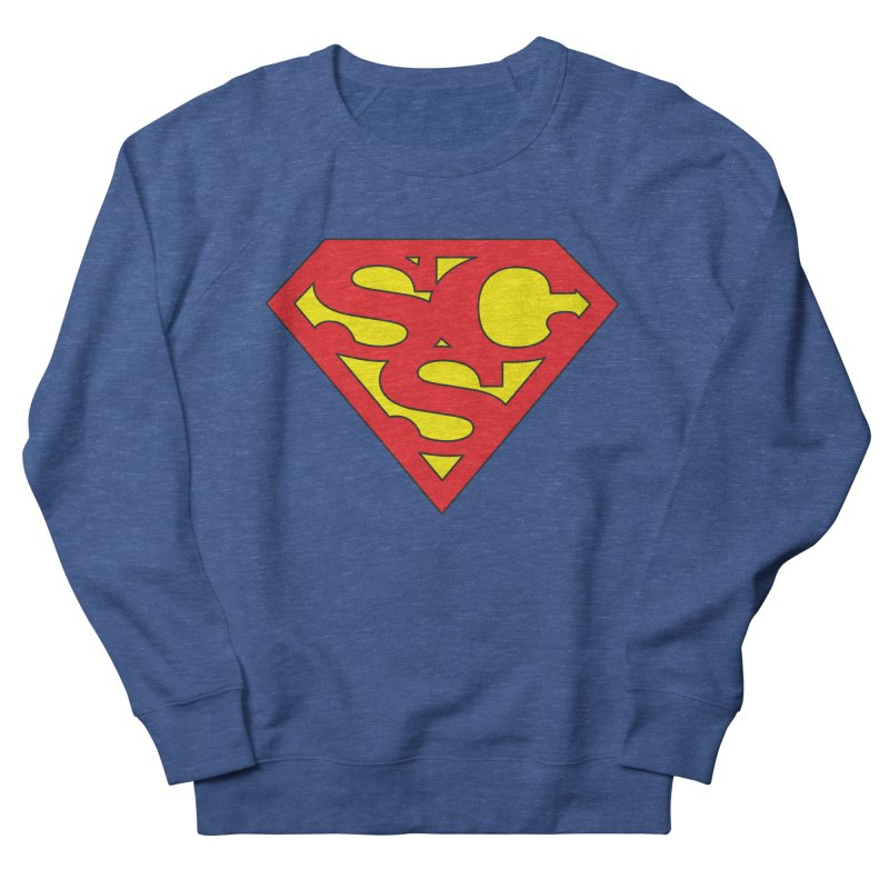 """""""Super Sweetheart"""" Logo Men's French Terry Sweatshirt by Sofa City Sweetheart Discount Superstore"""