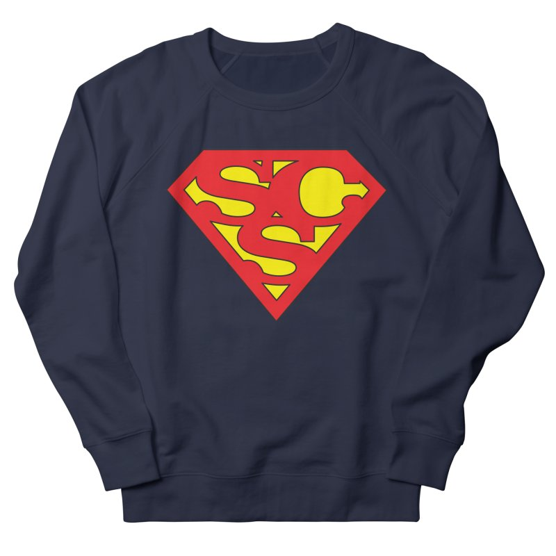 """Super Sweetheart"" Logo Men's French Terry Sweatshirt by Sofa City Sweetheart Discount Superstore"