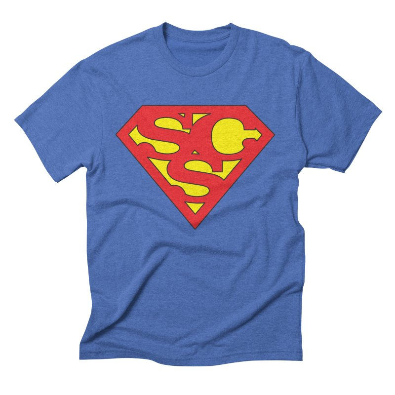 """Super Sweetheart"" Logo Men's Triblend T-Shirt by Sofa City Sweetheart Discount Superstore"