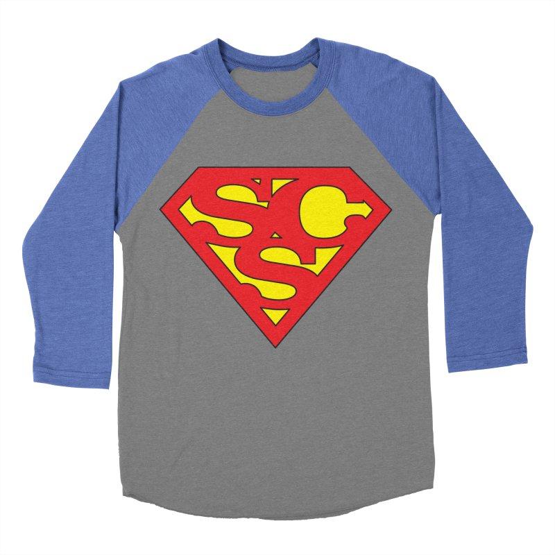 """Super Sweetheart"" Logo Women's Baseball Triblend Longsleeve T-Shirt by Sofa City Sweetheart Discount Superstore"