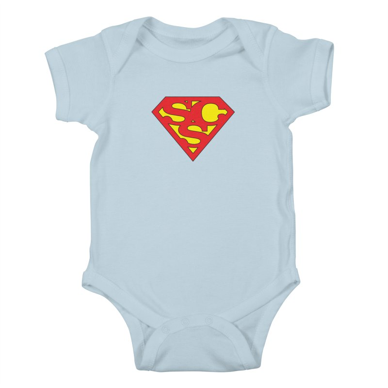 """""""Super Sweetheart"""" Logo Kids Baby Bodysuit by Sofa City Sweetheart Discount Superstore"""