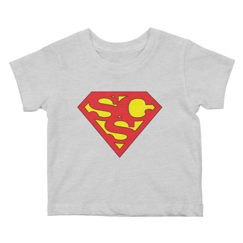 """""""Super Sweetheart"""" Logo Kids Baby T-Shirt by Sofa City Sweetheart Discount Superstore"""