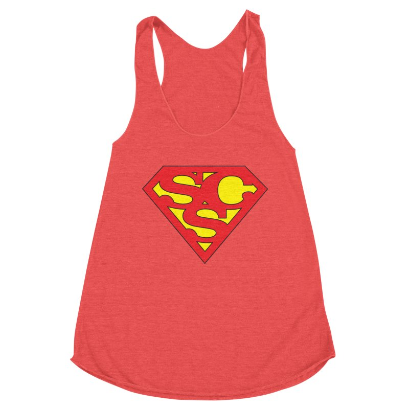 """""""Super Sweetheart"""" Logo Women's Tank by Sofa City Sweetheart Discount Superstore"""
