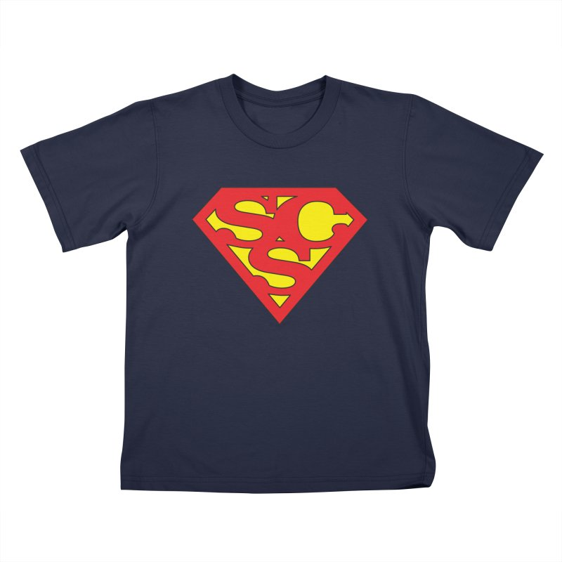 """Super Sweetheart"" Logo Kids T-Shirt by Sofa City Sweetheart Discount Superstore"