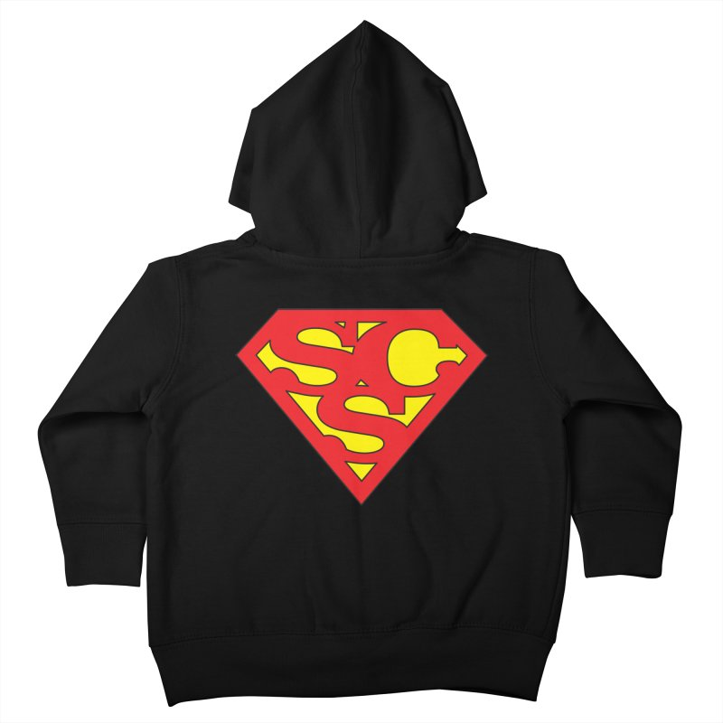 """""""Super Sweetheart"""" Logo Kids Toddler Zip-Up Hoody by Sofa City Sweetheart Discount Superstore"""