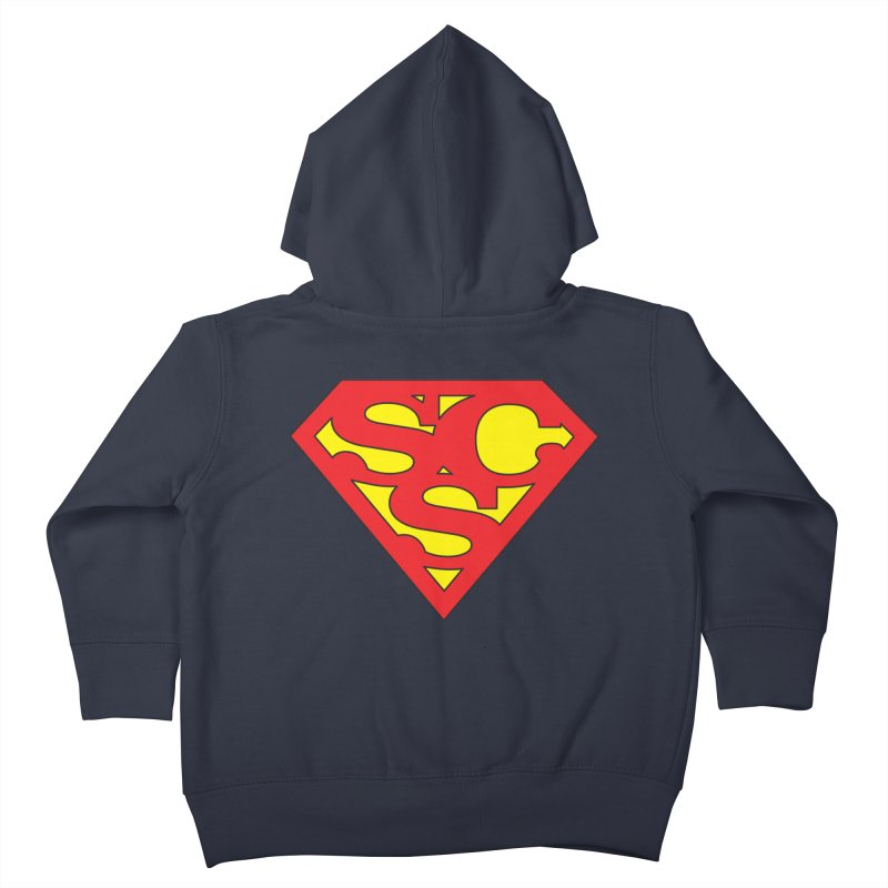 """Super Sweetheart"" Logo Kids Toddler Zip-Up Hoody by Sofa City Sweetheart Discount Superstore"