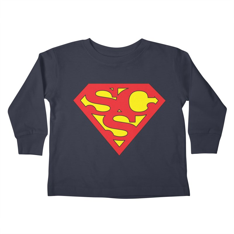 """""""Super Sweetheart"""" Logo Kids Toddler Longsleeve T-Shirt by Sofa City Sweetheart Discount Superstore"""
