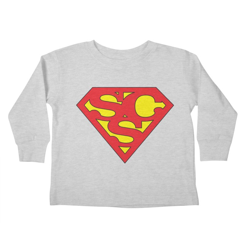 """Super Sweetheart"" Logo Kids Toddler Longsleeve T-Shirt by Sofa City Sweetheart Discount Superstore"