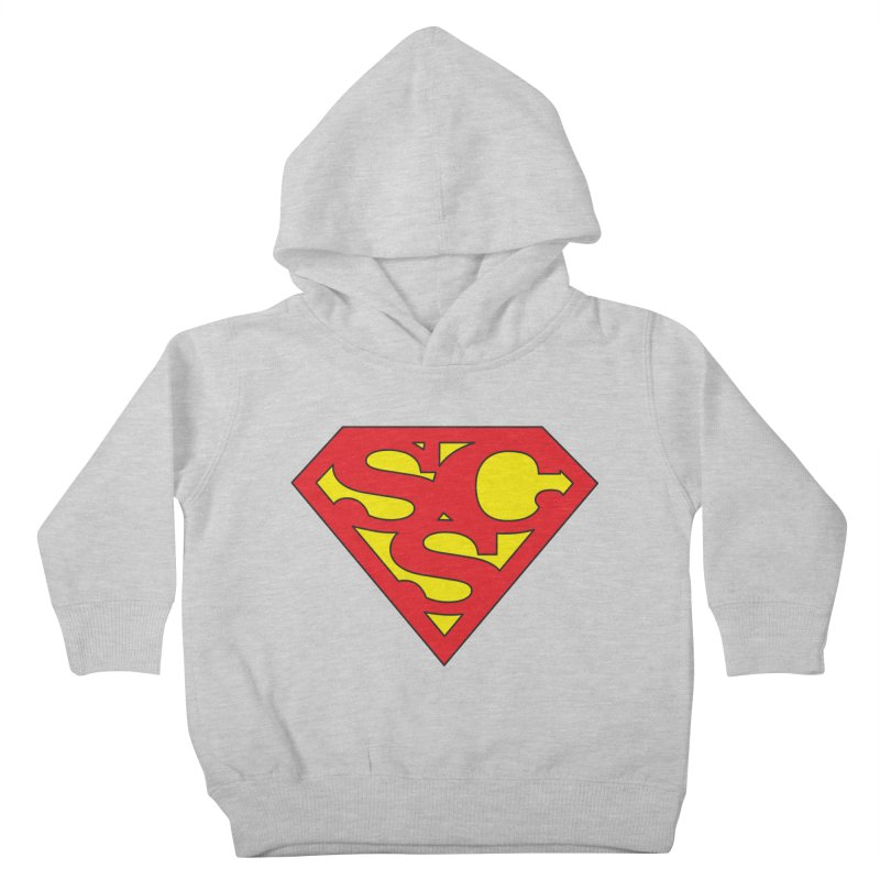 """Super Sweetheart"" Logo Kids Toddler Pullover Hoody by Sofa City Sweetheart Discount Superstore"
