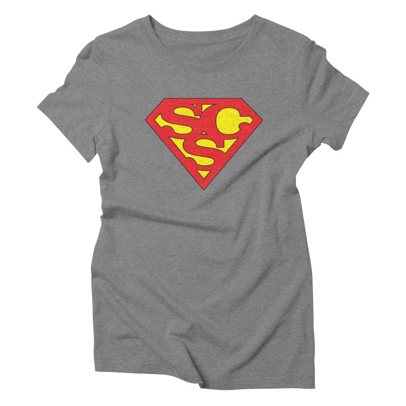 """""""Super Sweetheart"""" Logo Women's Triblend T-Shirt by Sofa City Sweetheart Discount Superstore"""