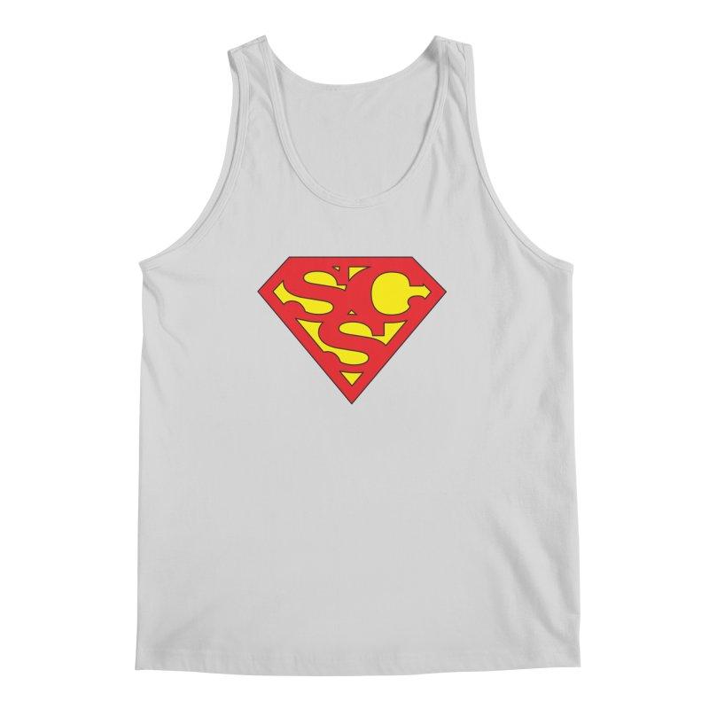 """Super Sweetheart"" Logo Men's Regular Tank by Sofa City Sweetheart Discount Superstore"