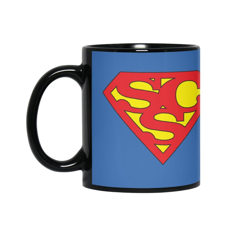 """Super Sweetheart"" Logo Accessories Mug by Sofa City Sweetheart Discount Superstore"