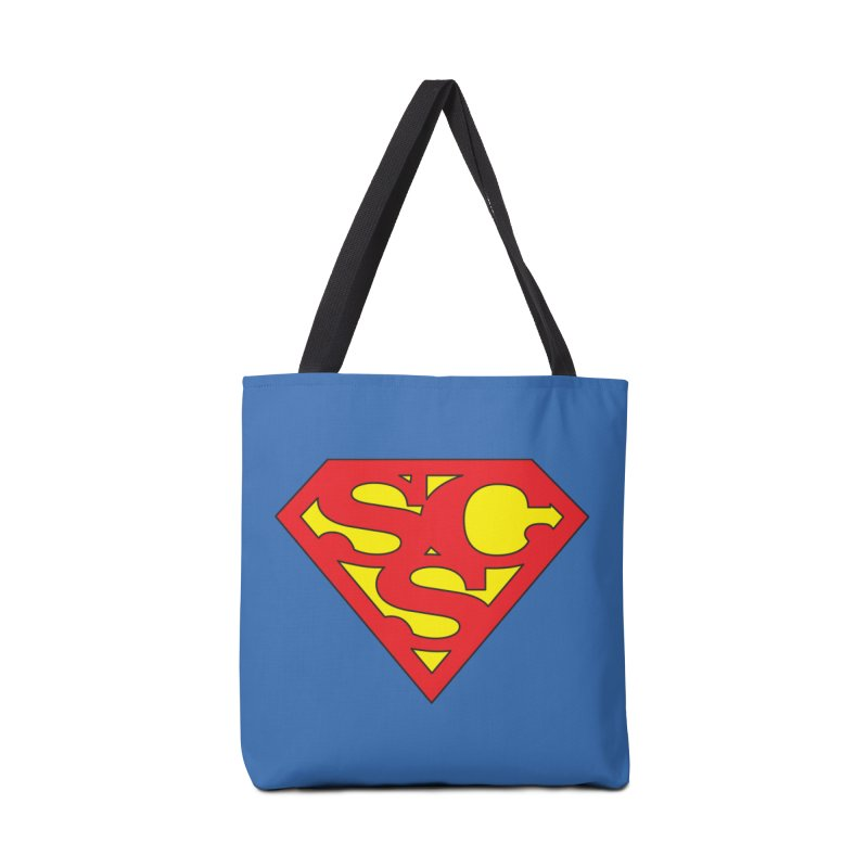 """Super Sweetheart"" Logo Accessories Tote Bag Bag by Sofa City Sweetheart Discount Superstore"