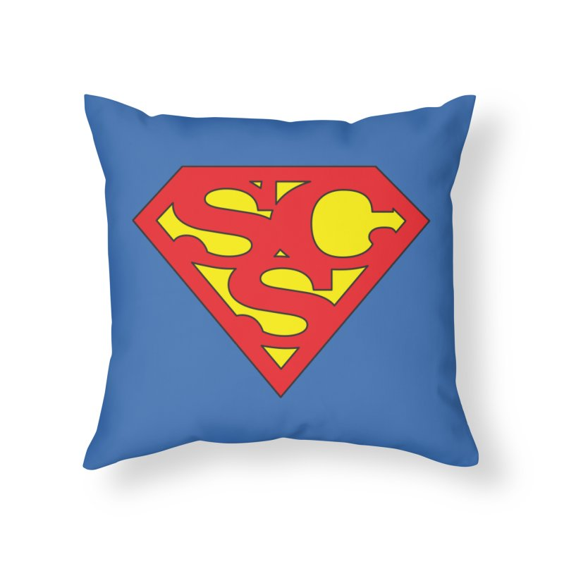 """Super Sweetheart"" Logo Home Throw Pillow by Sofa City Sweetheart Discount Superstore"