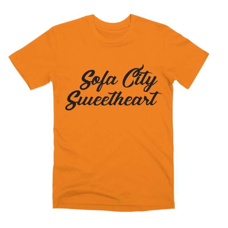 "Sofa City ""Summer Camp"" (Black Font) Men's Premium T-Shirt by Sofa City Sweetheart Discount Superstore"