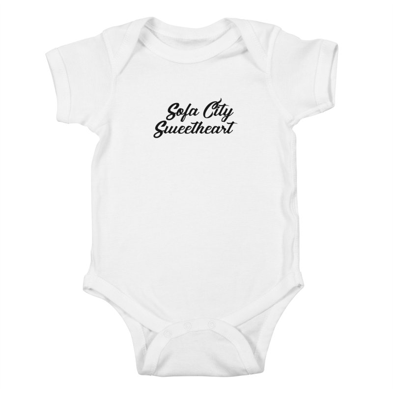 """Sofa City """"Summer Camp"""" (Black Font) Kids Baby Bodysuit by Sofa City Sweetheart Discount Superstore"""